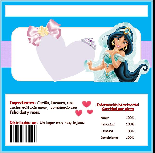 Para etiquetas de Chocolate de Jasmine.