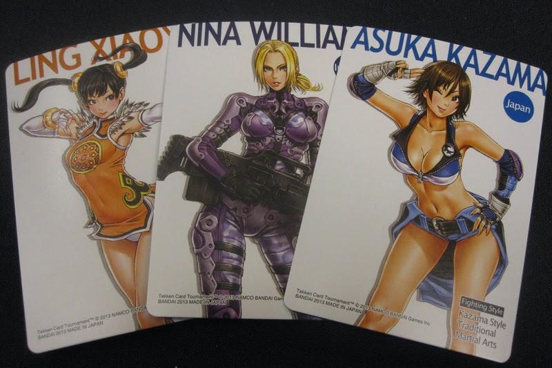 TCT Nina Xiaoyu Tekken Cards Very Rare