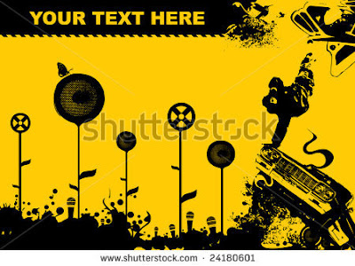 stock vector black yellow design flayer for clubs