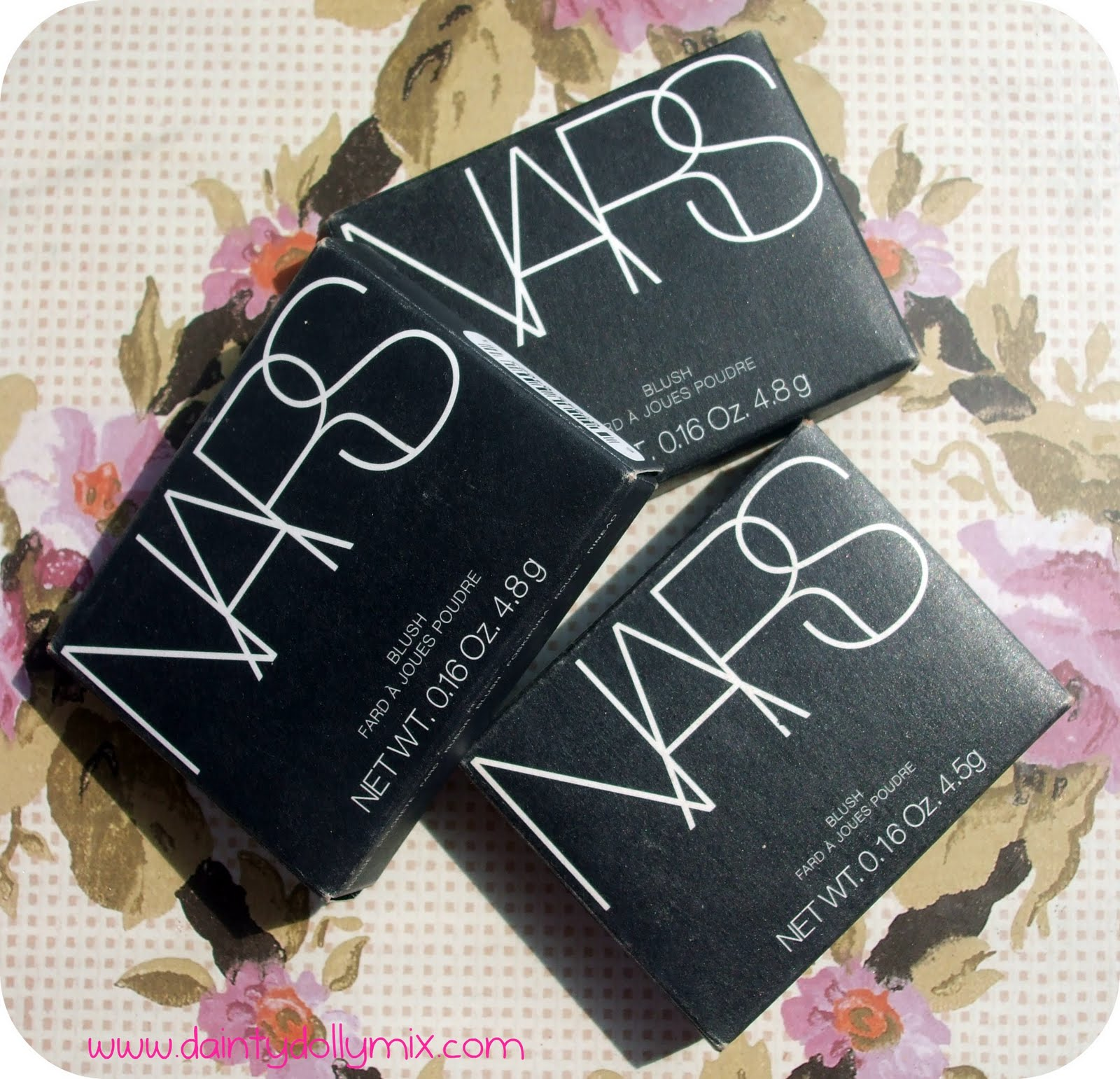 Dainty Dollymix Uk Beauty Blog Nars Blush Collection On Original Angelika