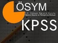 2012 KPSS Sınav Sonuçlarının Açıklandı.