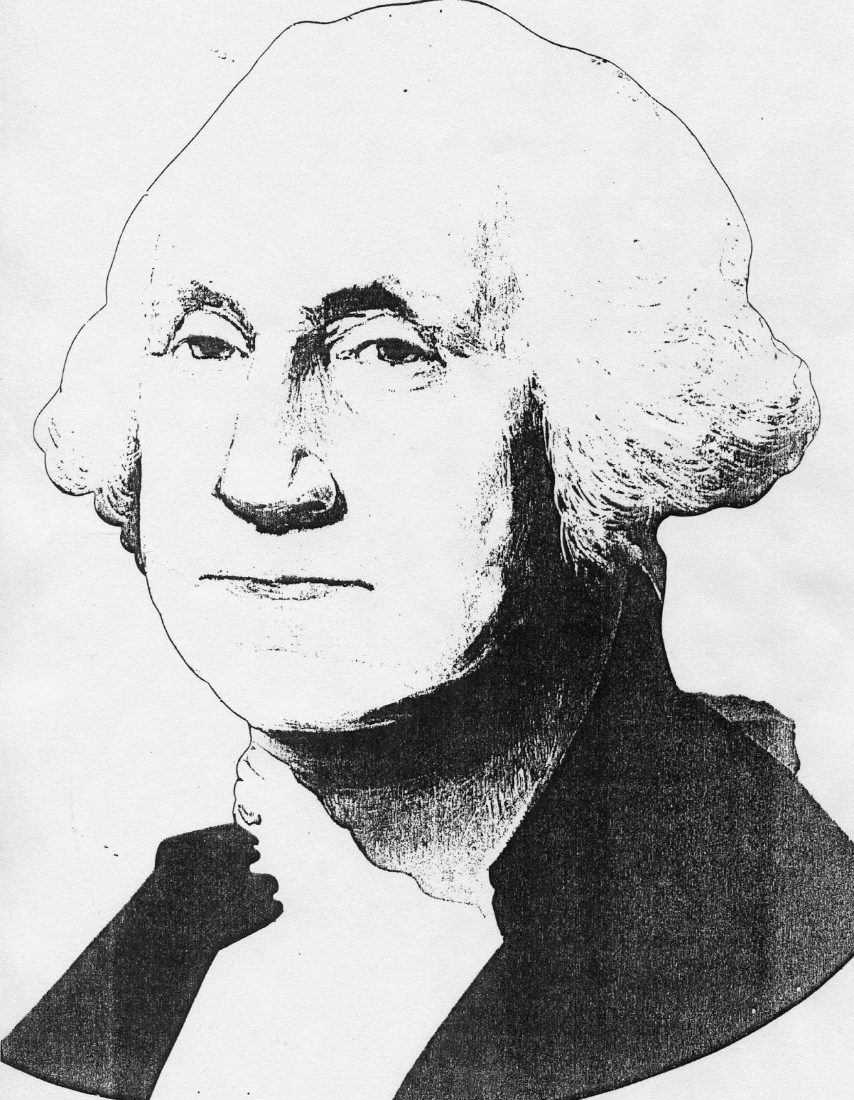 Teacher Ink: Lincoln and Washington Masks - and a Math Graph