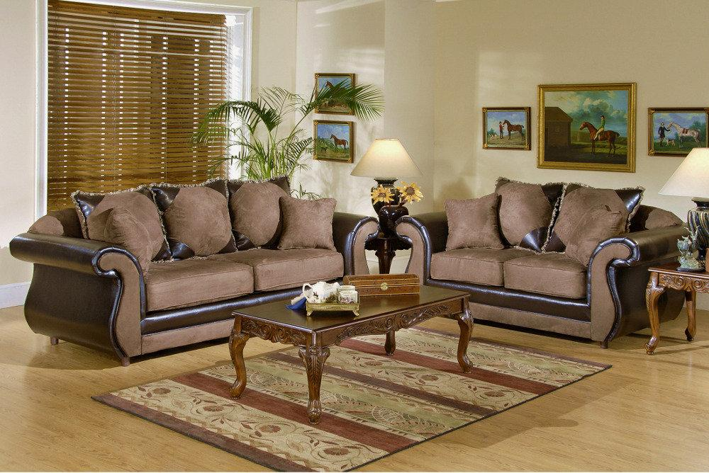 Living Room   Fabric Sofa Sets Designs 2011