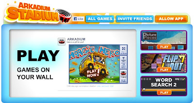 Play Games On Facebook Wall
