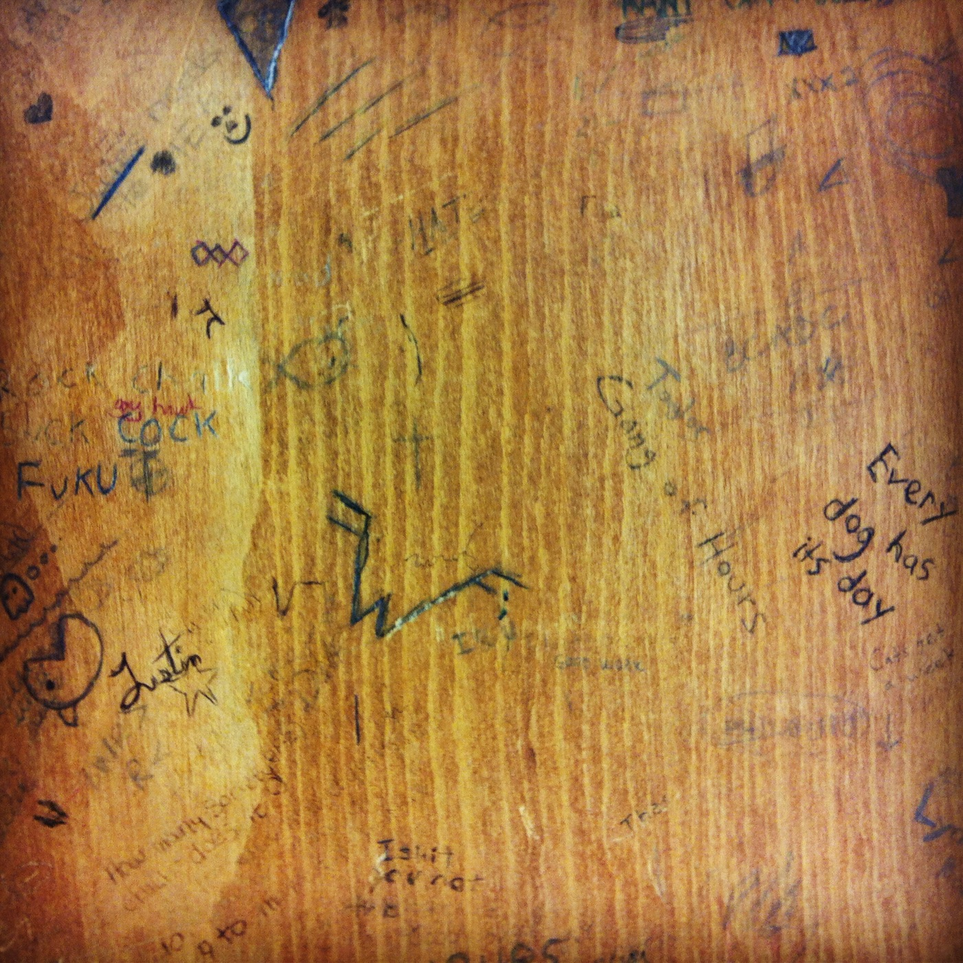 School Desk Top