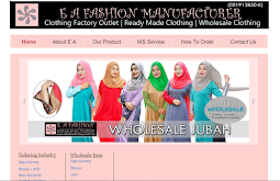 E A Fashion Website