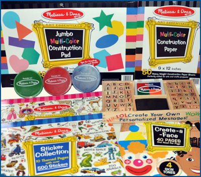 Melissa & Doug Art Supplies from Gummy Lump.com
