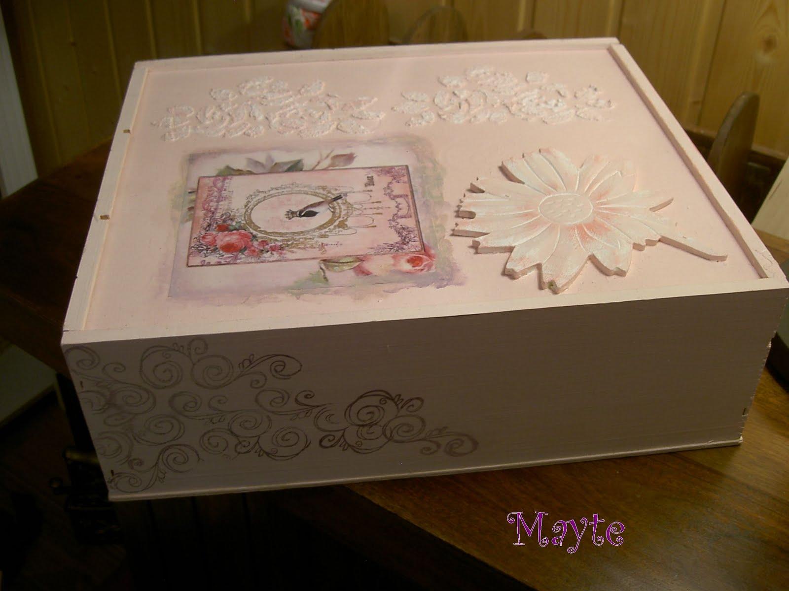 Manualidades con fieltro pinterest home - Manualidades cajas decoradas ...