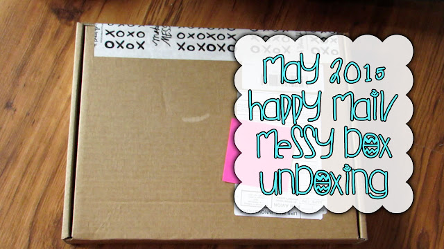A Beautiful Mess Subscriptions: Messy Box and Happy Mail (May 2015)