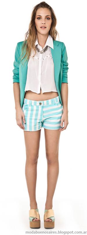 Shorts verano 2014 Inversa ropa de mujer. Moda 2014.