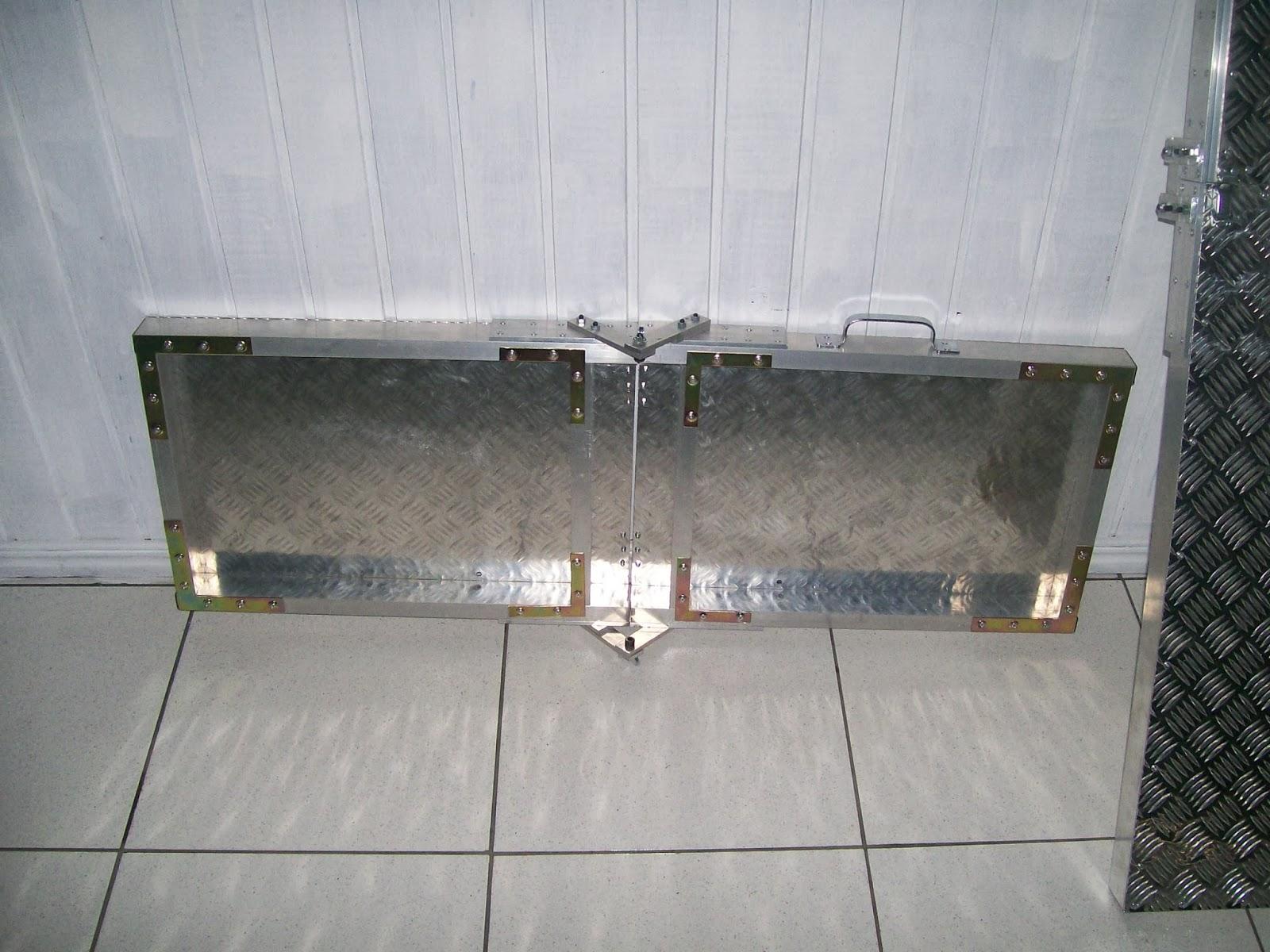 rampas em aluminio