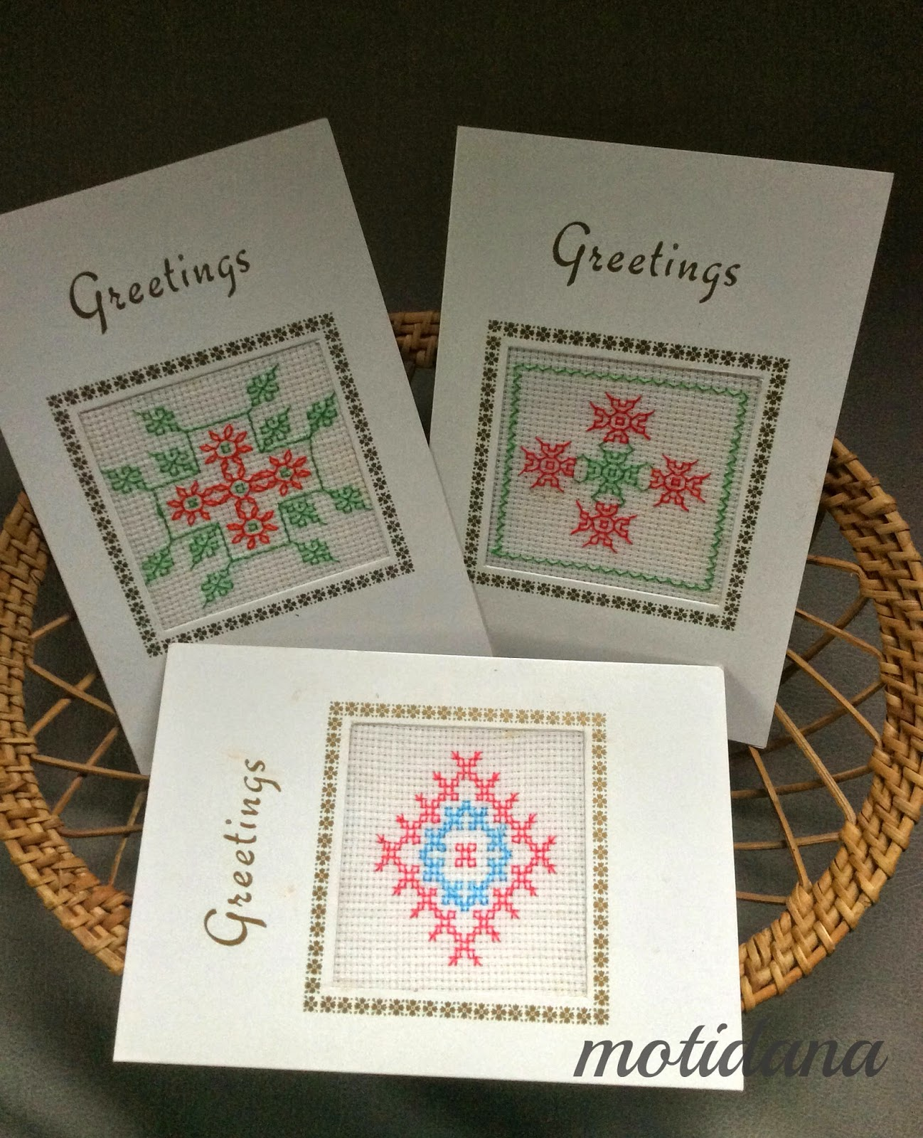 diwali greetings , hand embroidery from India