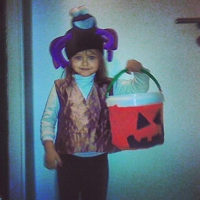 Last Minute Halloween Costume