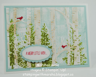 lovely as a tree stampin up, woodland embossing, white Christmas
