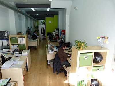 alquiler oficina compartida gracia work center