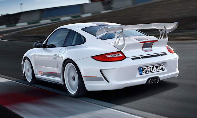 New photos of the Porsche 911 GT3 RS 4.0 Limited Edition