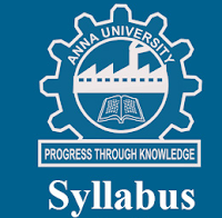 Anna University Syllabus