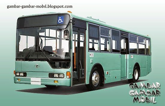 gambar mobil bus besar