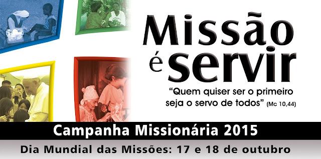 Subsídios da Campanha Missionária 2015 já podem ser baixados no site das POM