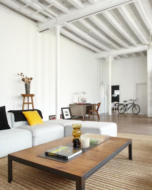 Loft de estética neoyorkina ubicado en Barcelona que antiguamente fue un viejo taller textil chicanddeco
