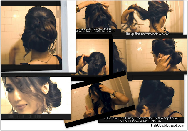 wedding hairstyles - chignon - updos, bridal, brides - hairstyles tutorial