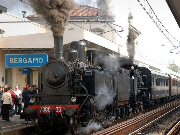 Il trenino artigianale di matteo turismo ferroviario - Treno milano porta garibaldi bergamo ...
