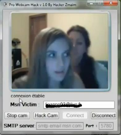 Msn crashes webcam