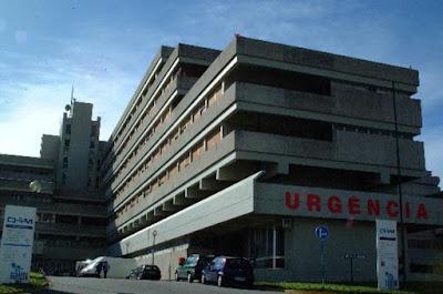 Fotografia do Hospital de Santa Luzia em Viana do Castelo