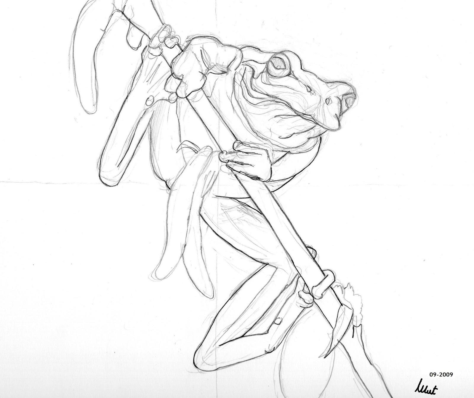 Arte Nadsat: El dibujo a lápiz es esencial