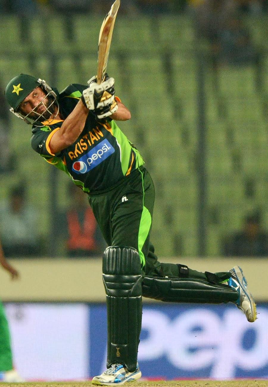 Afridi 59 Runs in 25 balls