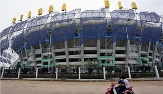 Stadion Gelora Bandung Lautan Api (GBLA) Gedebage Bandung