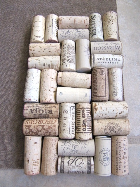 Wine Cork Backsplash Part - 20: Wine Cork Backsplash