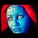 X-Men Mystique Make Up