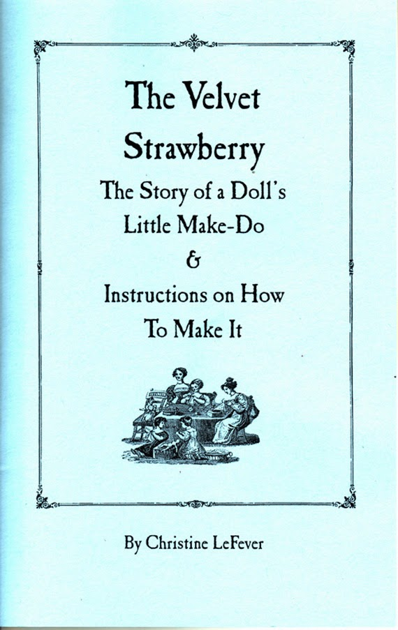 The Velvet Strawberry Pattern Book and Story