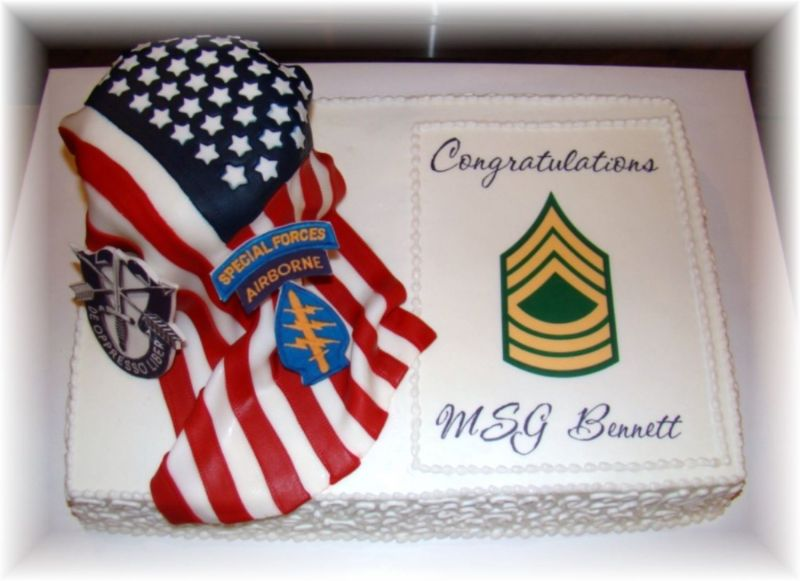 Cake Designs For Military : Cakes Promotion Cake Ideas and Designs