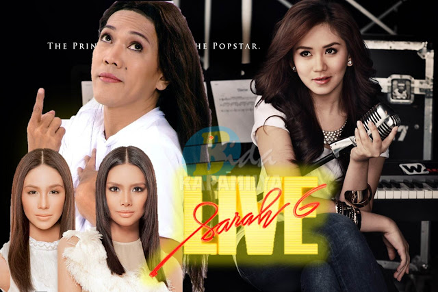 Ate Gay, Erich and Empress on Sarah G Live! this October 14