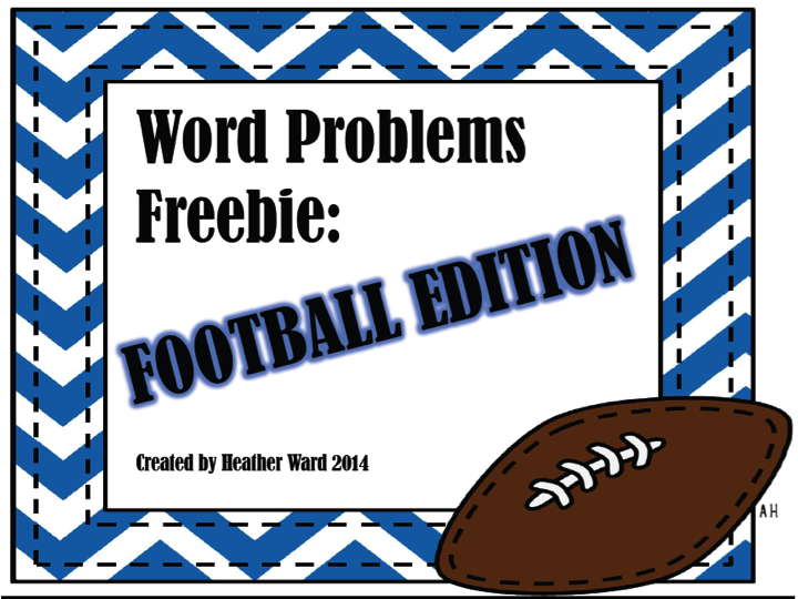 http://www.teacherspayteachers.com/Product/Word-Problem-Freebie-Football-Edition-1642851