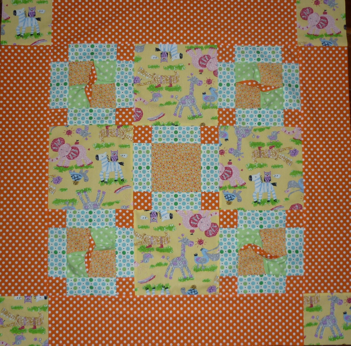 Aunty hennys baby twist for Floor quilt for babies