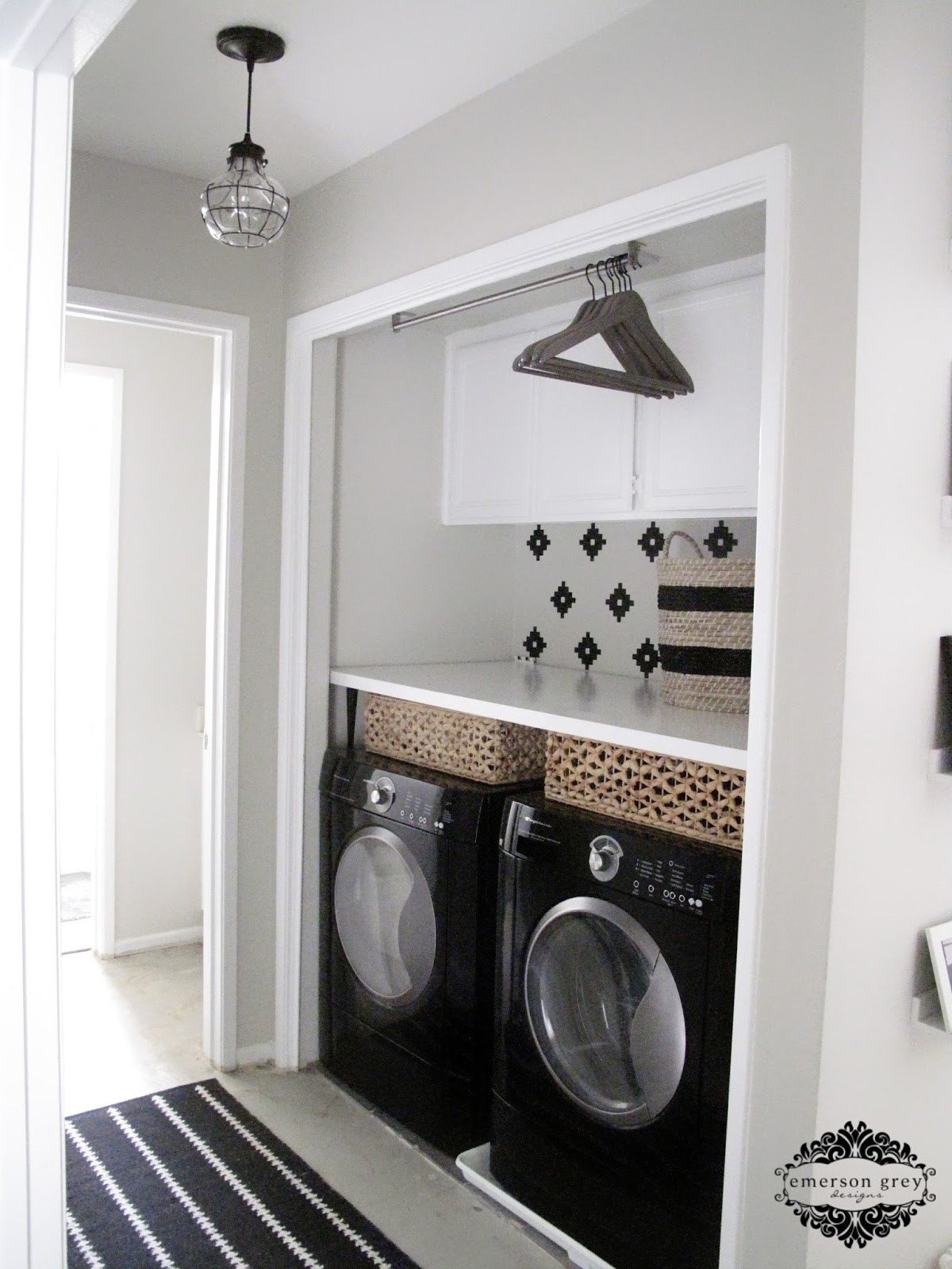 our new home part 6 laundry room redo. Black Bedroom Furniture Sets. Home Design Ideas