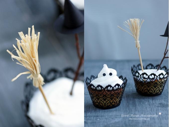 Glow In The Dark Cupcakes Halloween