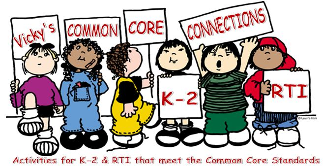 Vicky's Common Core Connections