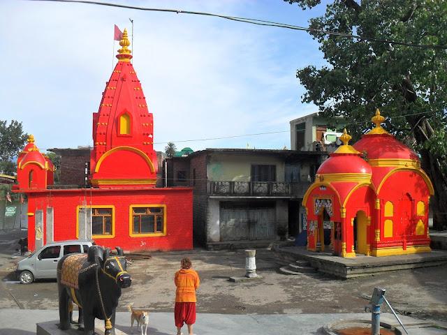 Ревалсар. Индия. Прекрасное сочетание цветов и объектов