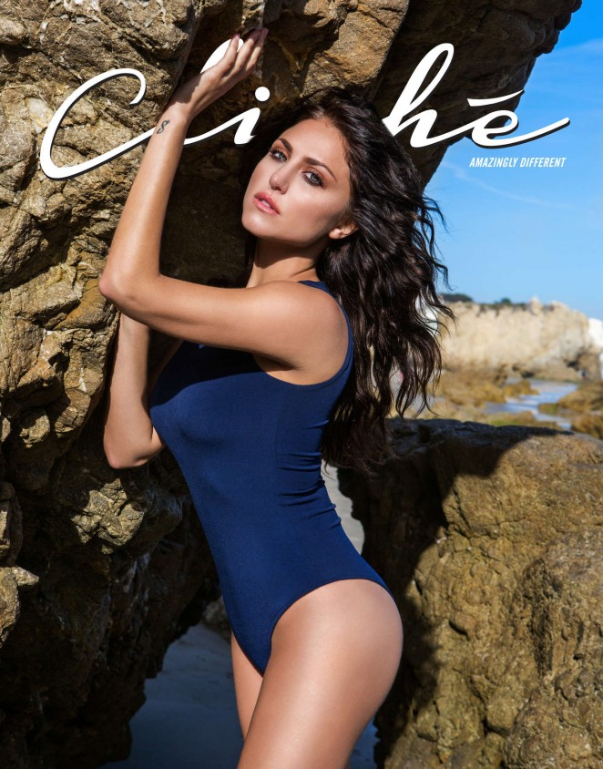 Cassie Scerbo poses for Cliche Magazine June/July 2015