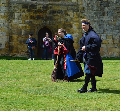 Harry Potter Broomstick training at Alnwick Castle