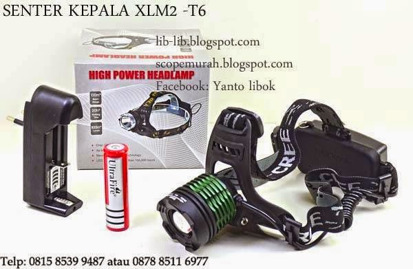 Senter Kepala Headlamp Cree LED XML2