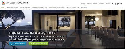 homepage homestyler per progettazione interni