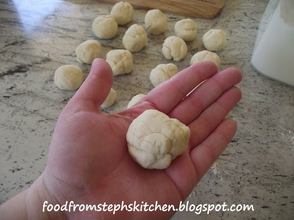 Making mini tortillas - Steph's Kitchen