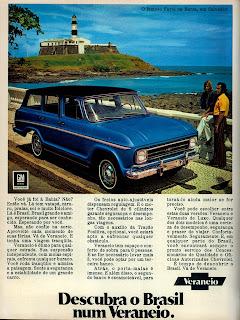 propaganda Veraneio - 1972;  1972; brazilian advertising cars in the 70s; os anos 70; história da década de 70; Brazil in the 70s; propaganda carros anos 70; Oswaldo Hernandez;
