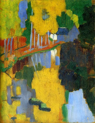 Paul Sérusier - Le talisman,1888.