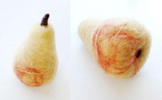 como hacer frutas decorativas